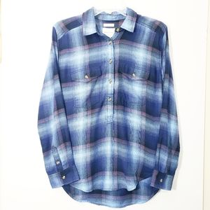 American Eagle Amazingly Soft Pullover Flannel XS